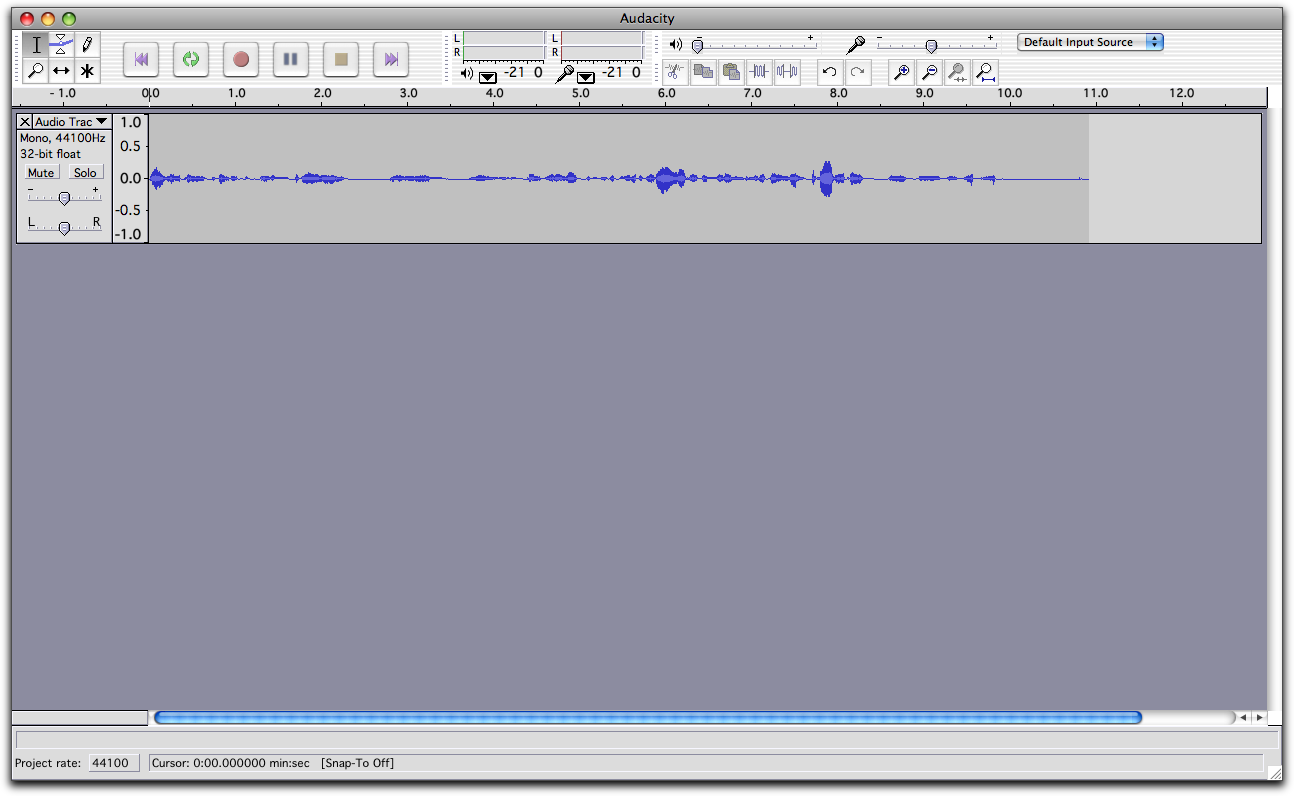 Making Audio Recordings - ENG 204: Introduction to